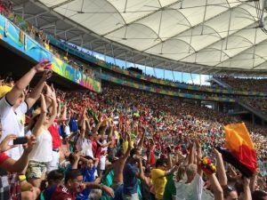 サッカーワールドカップの観客から学ぶ英会話でも使えそうな表現