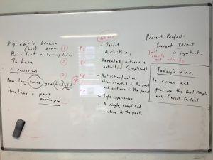 英会話のパターンを勉強