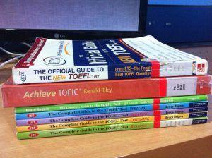 TOEFLテスト対策の書籍