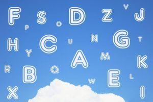 リスニングの第一歩はアルファベットから