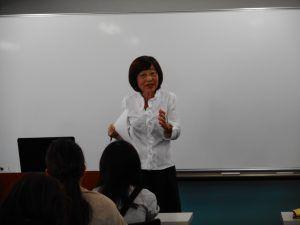 角田先生の通訳セミナー