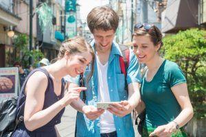 外国人観光客増で英語力アップ